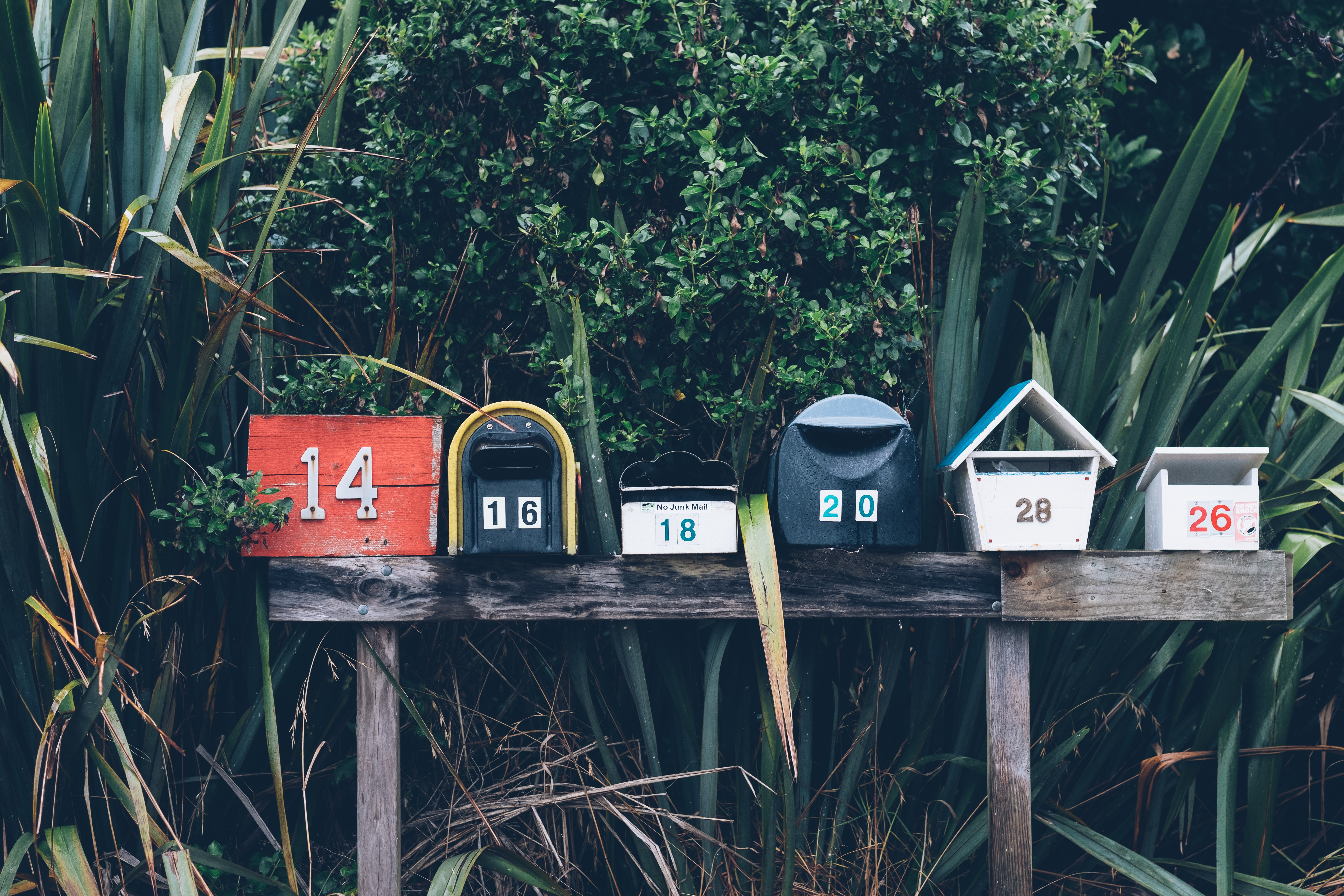 emails. mailboxes. customer love