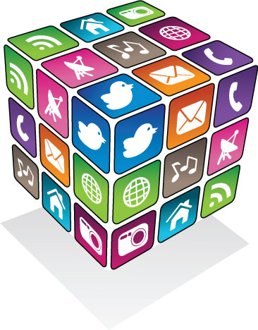 social media rubix cube customer love